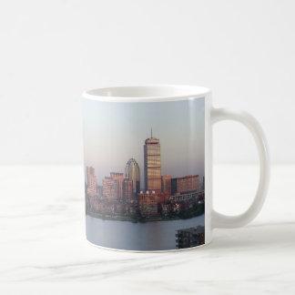Boston Skyline Sunset Mug