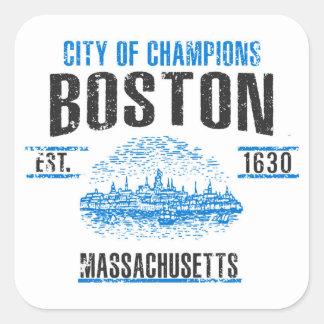 Boston Square Sticker