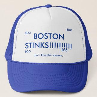 BOSTON STINKS!!!!!!!!!!, but i love the scenery... Cap