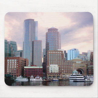 Boston Stormy Skyline Mouse Pad