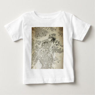 Boston Streets and Buildings Map Antic Vintage Baby T-Shirt