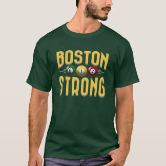 Boston Strong 617 Billiards T-Shirt