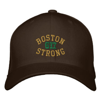 Boston Strong 617 Embroidered Cap