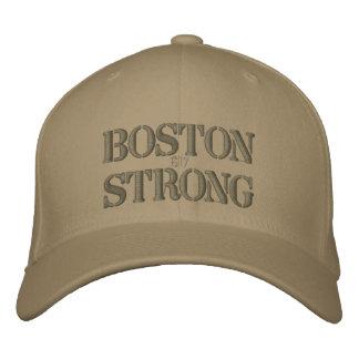 Boston Strong 617 Ribbon Edition Embroidered Baseball Caps