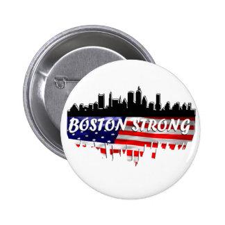 Boston Strong 6 Cm Round Badge