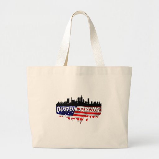 Boston Strong Canvas Bags