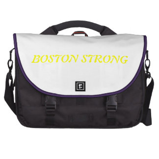 BOSTON STRONG BAG LAPTOP MESSENGER BAG