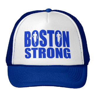 Boston strong Blue Cap