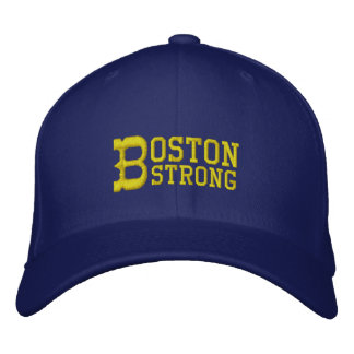 Boston Strong Embroidered Hat