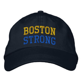 Boston Strong Embroidered Hats