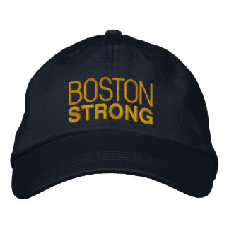 Boston Strong Embroidery Embroidered Hat
