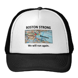 Boston Strong Map Hat