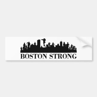 Boston Strong Pride Bumper Sticker
