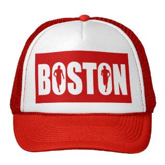 Boston strong pride mesh hats