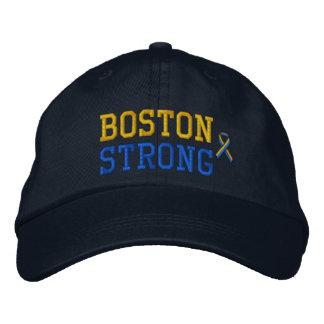 Boston Strong Ribbon Edition Embroidered Baseball Cap