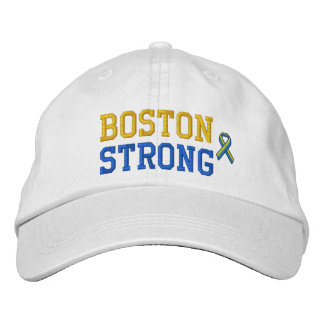 Boston Strong Ribbon Edition Embroidered Cap