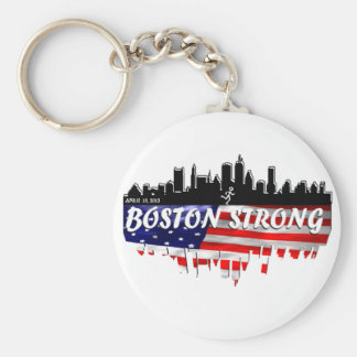 Boston Strong Run Key Ring