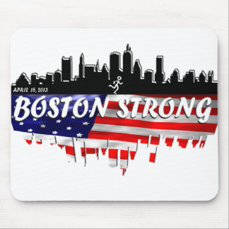 Boston Strong Run Mouse Pad