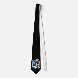 BOSTON STRONG TERRIER crest style Tie