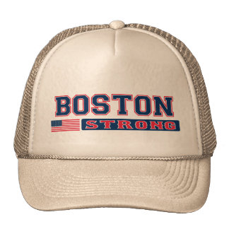 BOSTON STRONG U.S. Flag Hat