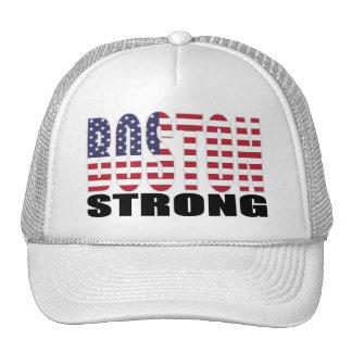BOSTON STRONG U.S. Flag Hats
