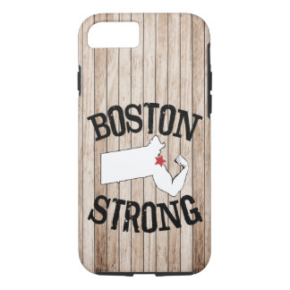 Boston Strong Wood Grain iPhone 8/7 Case