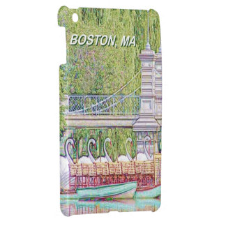 Boston Swan Boats in Pencil and Ink Filter Case For The iPad Mini