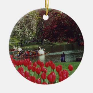 Boston Swan Boats Ornament