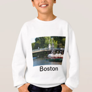 Boston Swan Boats Sweat Shirt