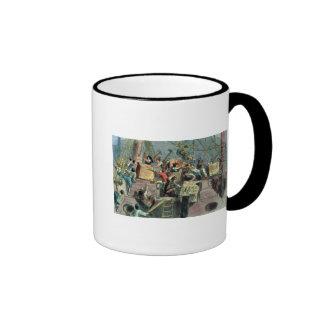 Boston Tea Party, 16th December 1773 Mugs