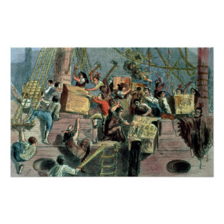 Boston Tea Party, 16th December 1773 Posters