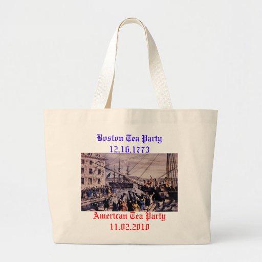 Boston Tea Party Bag