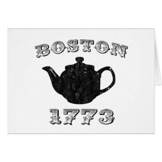 boston tea party card