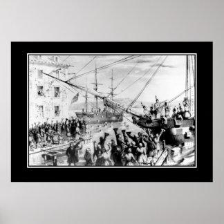 Boston Tea party December 16, 1773 Poster
