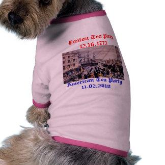 Boston Tea Party Pet Shirt