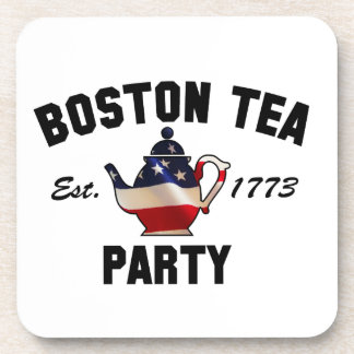 Boston Tea Party Drink Coasters