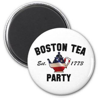 Boston Tea Party - Est. 1773 6 Cm Round Magnet