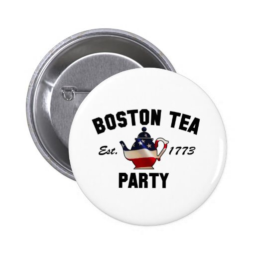 Boston Tea Party - Est. 1773 Pins