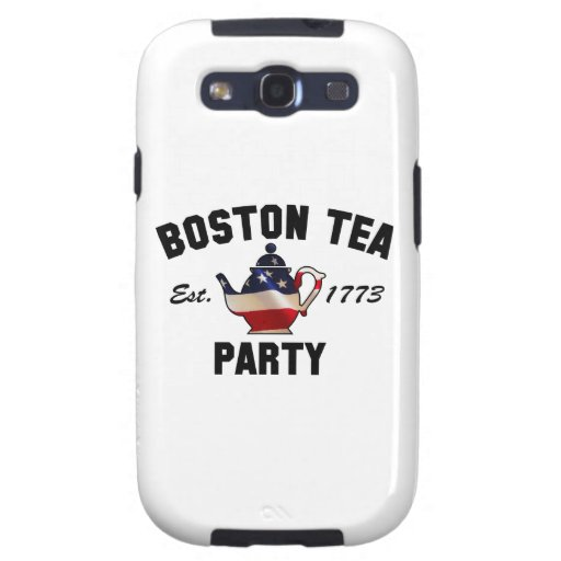 Boston Tea Party - Est. 1773 Galaxy S3 Cases