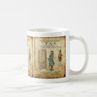 Boston tea Party Independence Day Basic White Mug