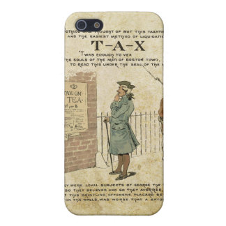 Boston tea Party Independence Day Covers For iPhone 5