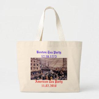 Boston Tea Party Jumbo Tote Bag
