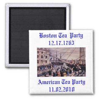 Boston Tea Party Fridge Magnet
