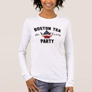 Boston Tea Party Massachusetts 1773 Long Sleeve T-Shirt