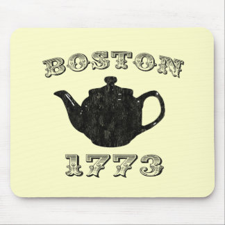 boston tea party mouse pad