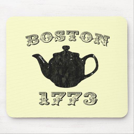 boston tea party mousepads