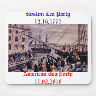 Boston Tea Party Mouse Pad