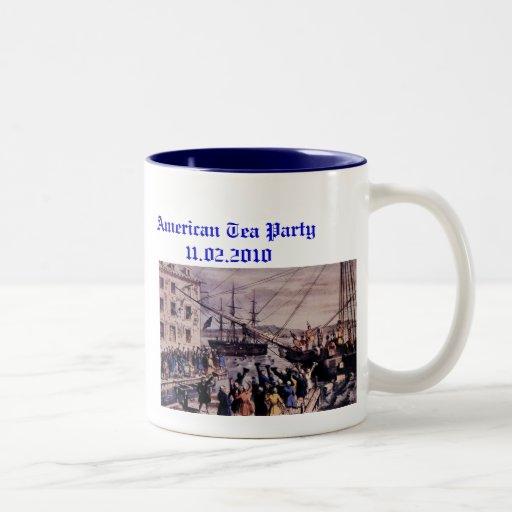 Boston Tea Party Coffee Mugs
