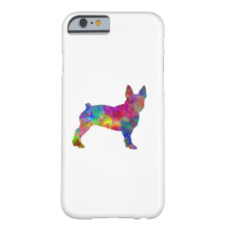 Boston Terrier 01 in watercolor Barely There iPhone 6 Case