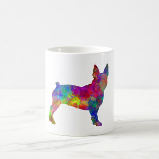 Boston Terrier 01 in watercolor Coffee Mug